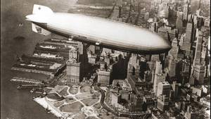 LZ127 Graf Zeppelin in New-York