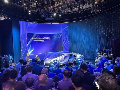 Mercedes CES 2020