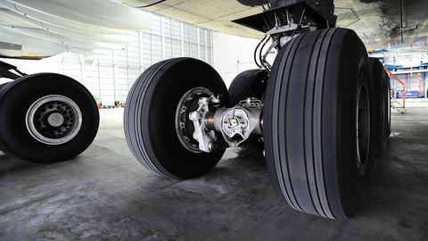 Fahrwerk eines Flugzeugs
