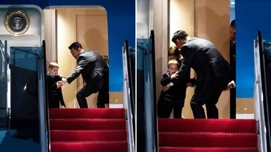 "Ivanka Trumps Sohn haut ab – Secret Service ""schnappt"" den Ausreißer"