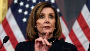 Die demokratische Vorsitzende der KongresskammerNancy Pelosi.