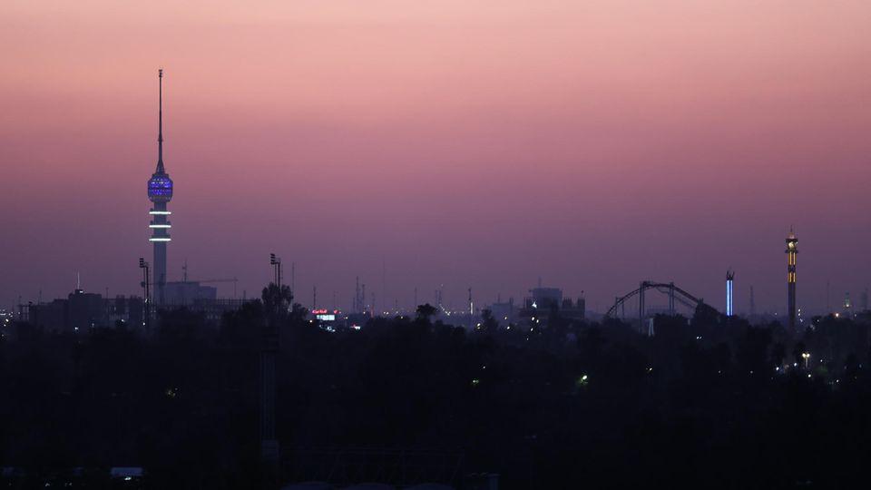 Skyline von Bagdad