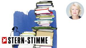 Meike Winnemuth schreibt über den unaufhaltsam wachsenden Stapel an Papierkram