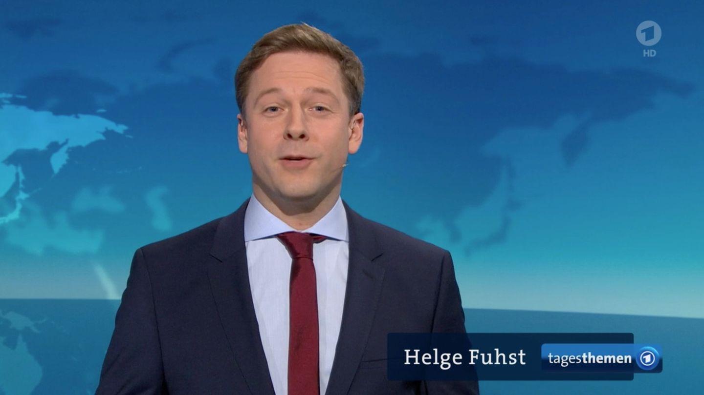 Tagesthemen: Moderator Helge Fuhst
