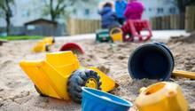 Rostock: Sandkasten einer Kita (Symbolfoto)
