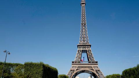 Touristen müssen draußen bleiben: der Eiffelturm in Paris wird bestreikt