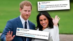 Der britische Prinz Harry und Herzogin Meghan ziehen sich aus ihren royalen Verpflichtungen zurück.