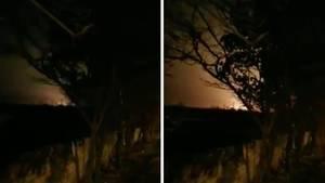 Dieses Video soll den Absturz der ukrainischen Passagiermaschine zeigen