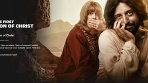Anzeigebild der Parodie auf Netflix: Christus und ein blonder Mann