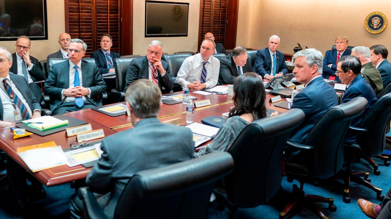 Donald Trump Iran Situation Room