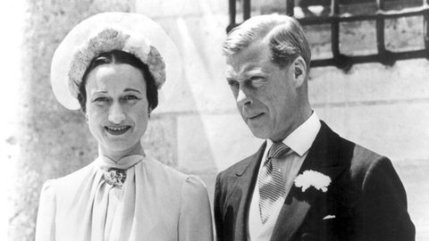 Wallis Simpson und Edward VIII.