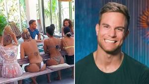 """Szenen aus Reality-Sendung """"Der Bachelor"""" 2020."""