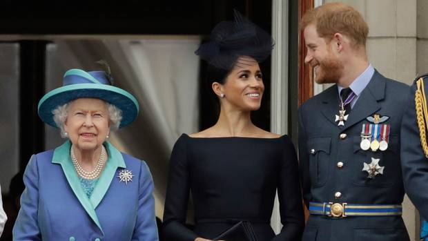 Harry und Meghan ziehen sich aus dem britischen Königshaus zurück