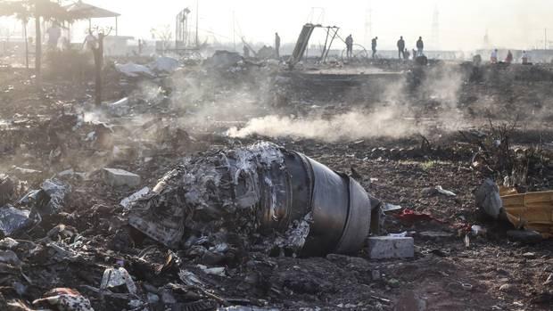 Iran - Flugzeug - Abschuss
