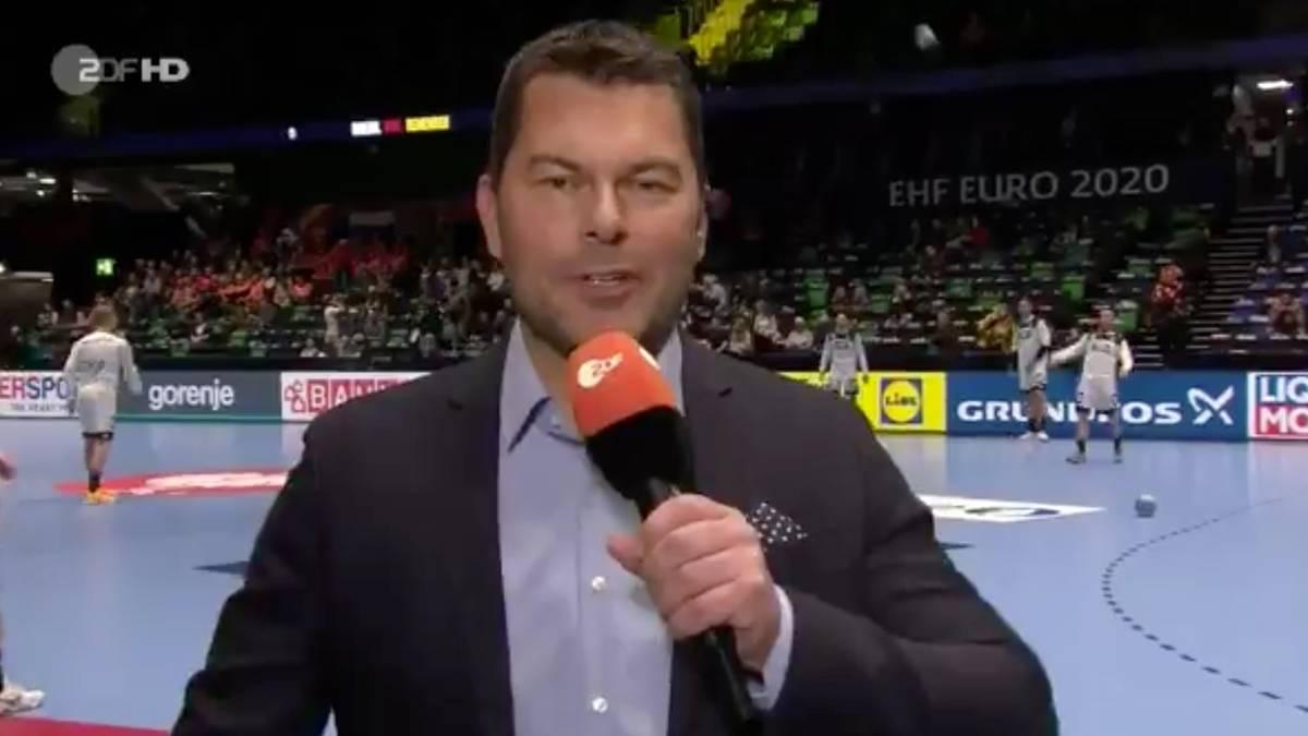 Handball Em Curious Start With A Head Shot For Zdf