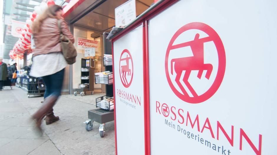 Rossmann-Filiale in der Wilmersdorfer Straße in Berlin