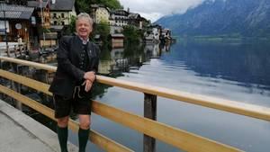Österreich: Bürgermeister Scheutz vor Hallstatt