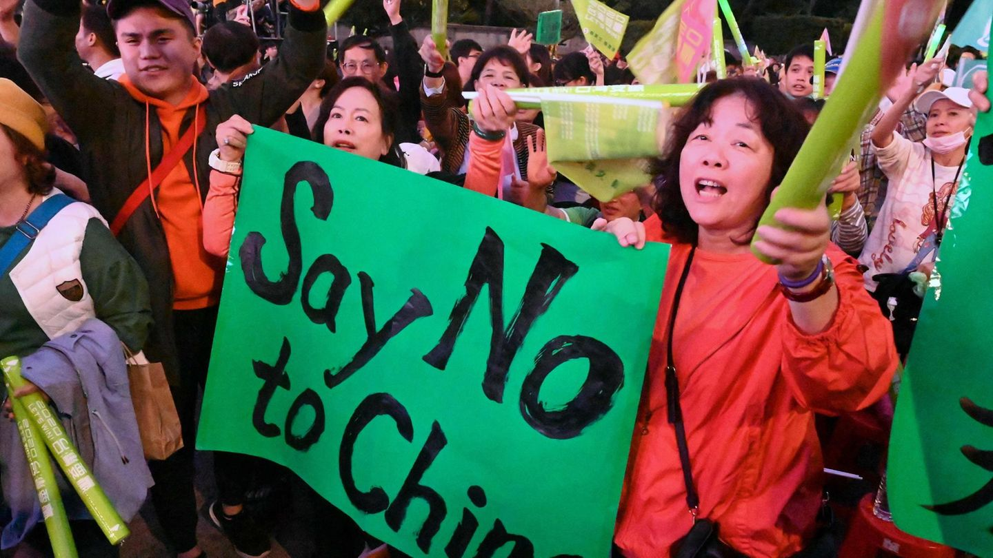 Taiwan Protest