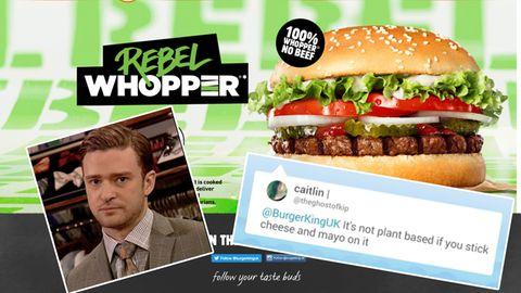 Burger King wegen vermeintlich veganem Burger in der Kritik