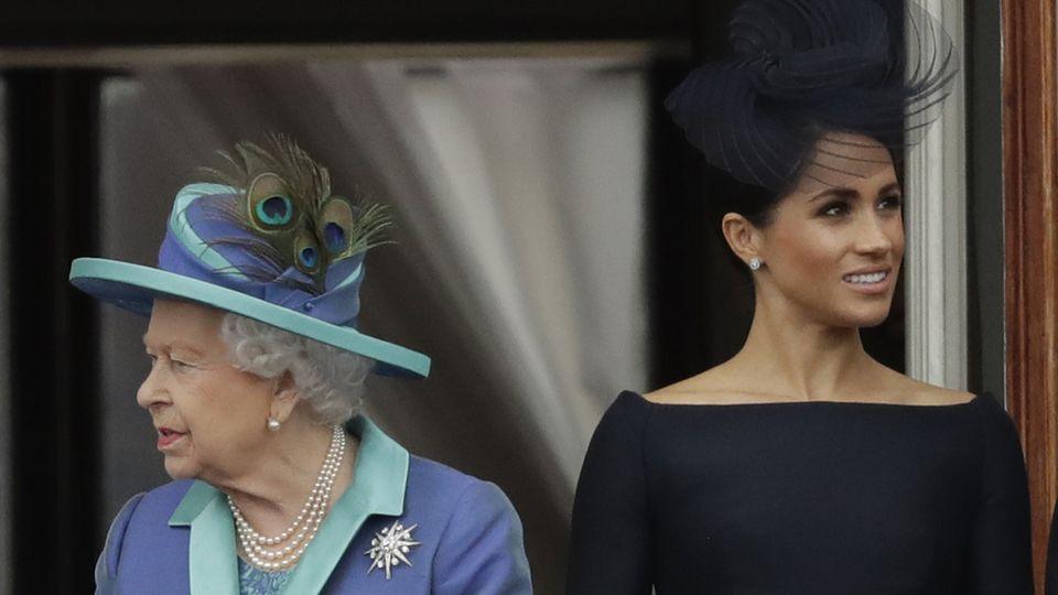 Queen Elizabeth II. und Herzogin Meghan