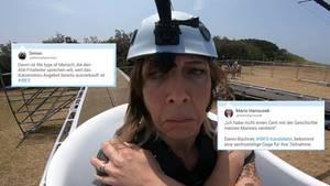 Die Zuschauer diskutieren bei Twitter über Danni Büchners Auftritt im Dschungelcamp