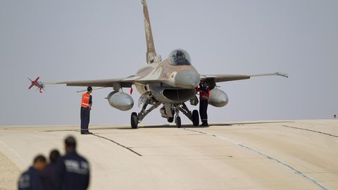 F-16 der israelischen Streitkräfte.