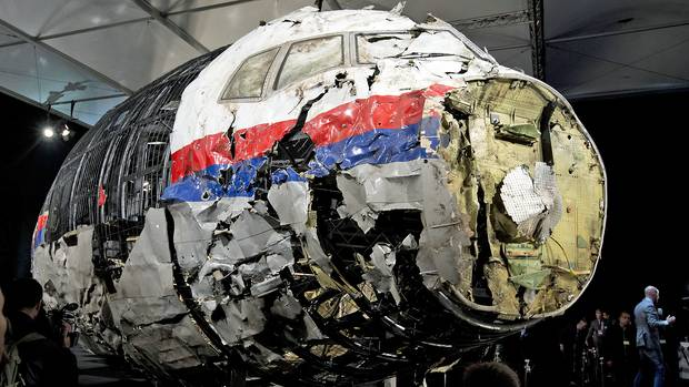Wrack MH17