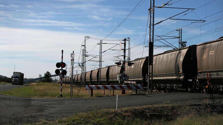 Kohle Zug Australien