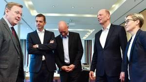 Thüringen - Regierungsbildung bleibt schwierig