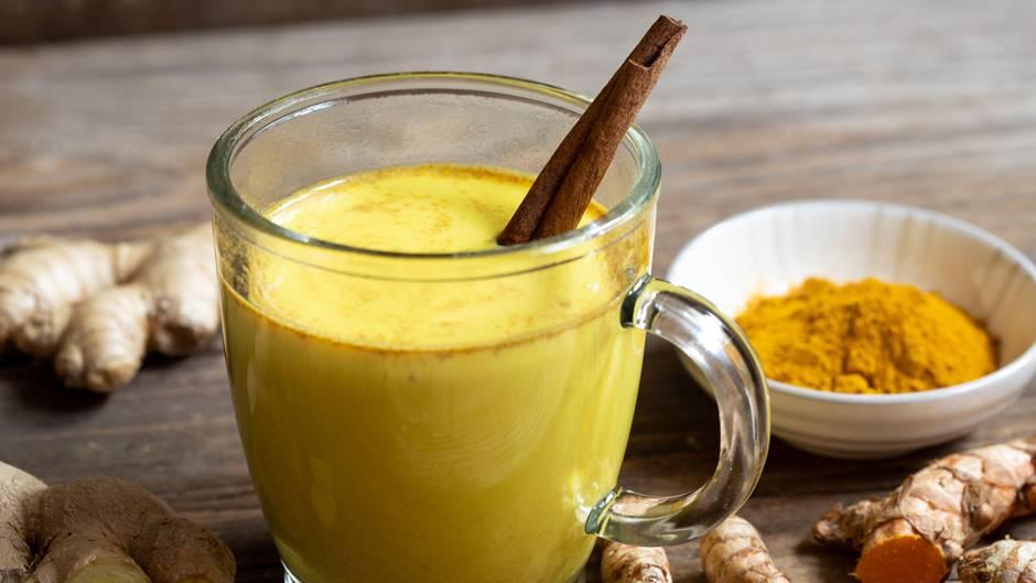 Golden Milk kann auch bei Erkältungen helfen
