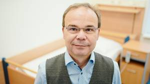 Hans-Günter Weeß leitet das Schlafzentrum in Klingenmünster