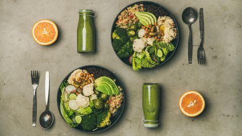 Viel Gemüse, Hülsenfrüchte und Obst: Eine gesunde Kost ist vor allem abwechslungsreich