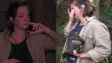 An Tag 5 im Dschungel kommen Daniela Büchner die Tränen