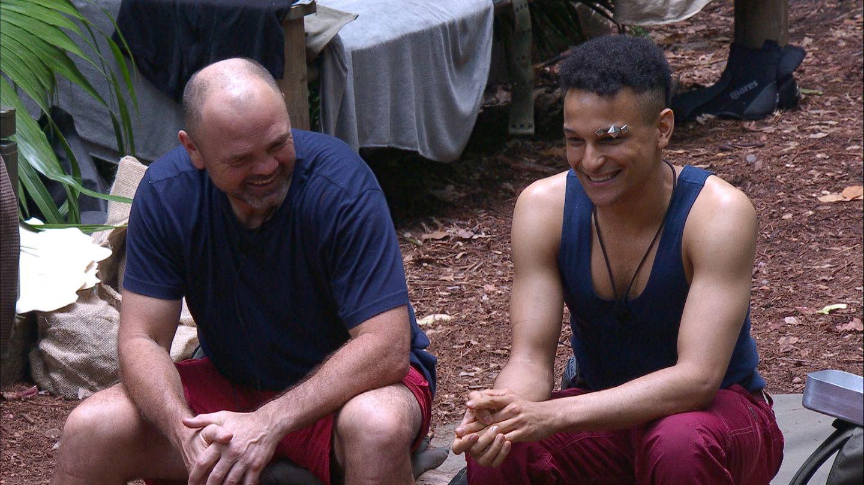 Dschungelcamp: Sven Ottke und Prince Damien