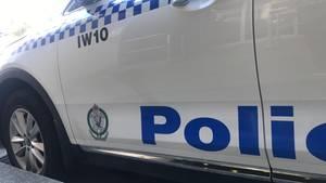 Polizeiauto im australischen Bundesstaat New South Wales
