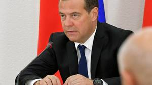 Russlands Ministerpräsident Dimitri Medwedew