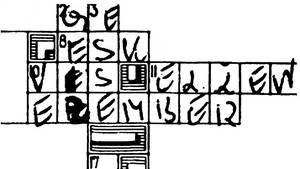 Die Spur der Buchstaben