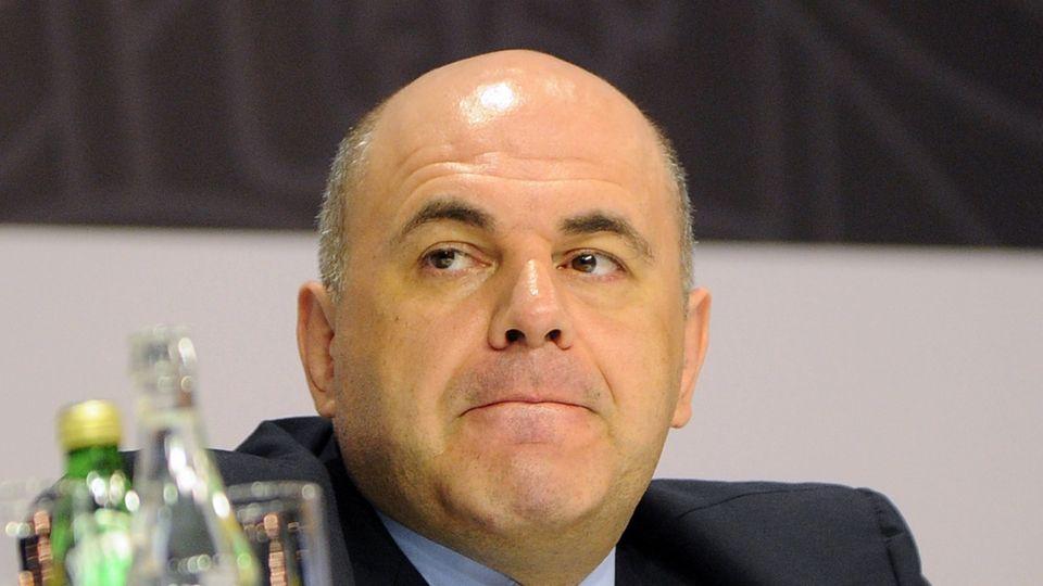Michail Mischustin ist bislangder Chef der russischen Steuerbehörde
