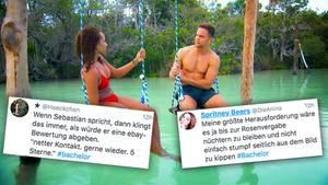 """Bachelor: Zuschauer lästern über Sebastian Preuss und seine Ausdrücke – """"Jenny hat nen Arsch-Shaker gemacht"""""""