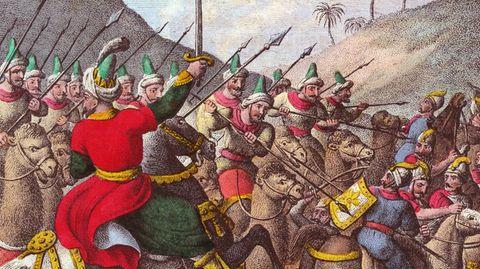 Kyros in der Schlacht gegen die Lyder