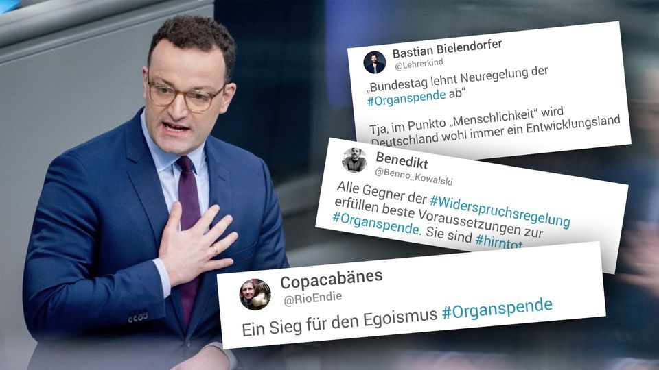 Gesundheitsminister Jens Spahn im Bundestag