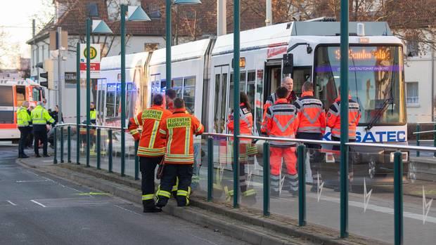 Straßenbahnunfall in Braunschweig