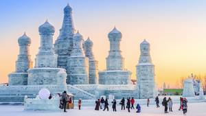 Eis- und Schneefestival Harbin