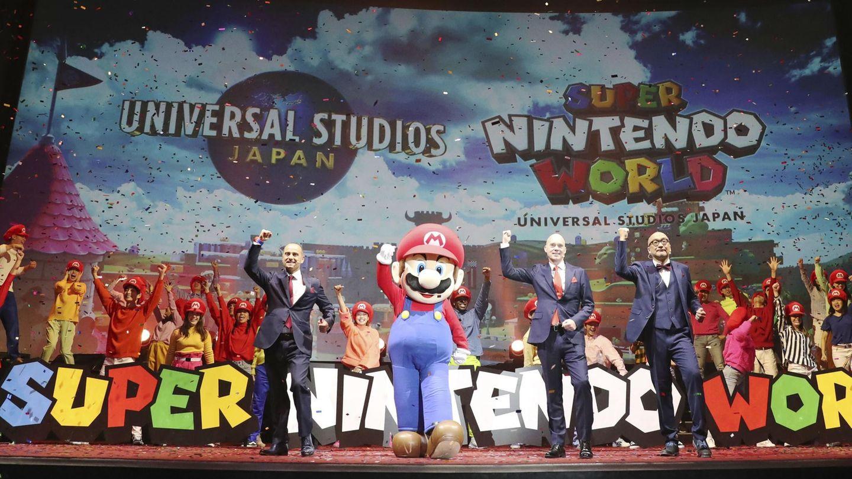 Pressekonferenz zur Super Nintendo World
