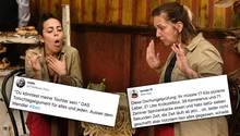 Dschungelcamp: Danni Büchner trinkt Kuh-Urin auf ex – und Twitter zieht Pornofilm-Vergleiche