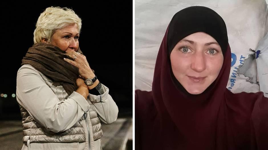 LudmillaFrizler, Mutter von Ex-IS-Anhängerin Elina Frizler.