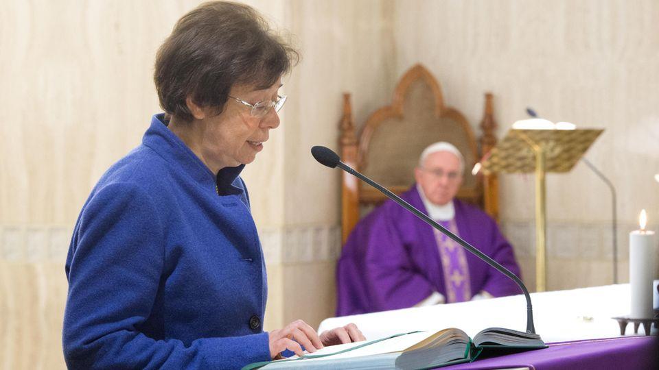 Francesca Di Giovanni arbeitet seit 27 Jahren für den Heiligen Stuhl