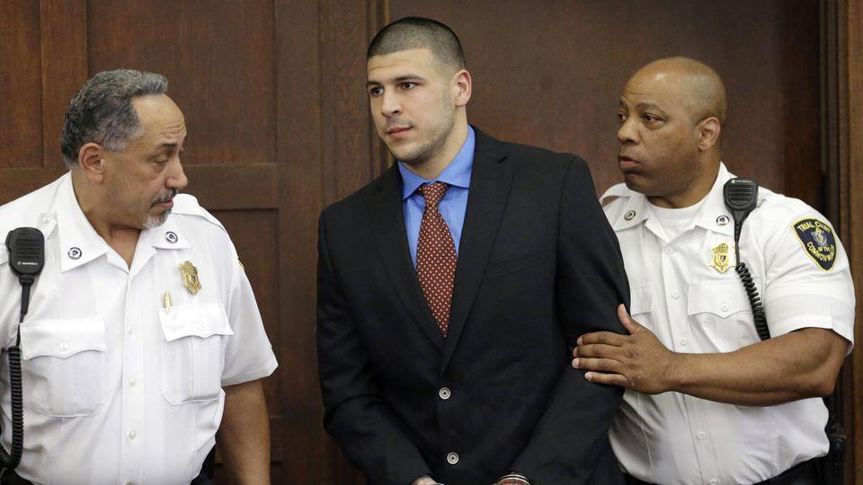 Aaron Hernandez vor Gericht