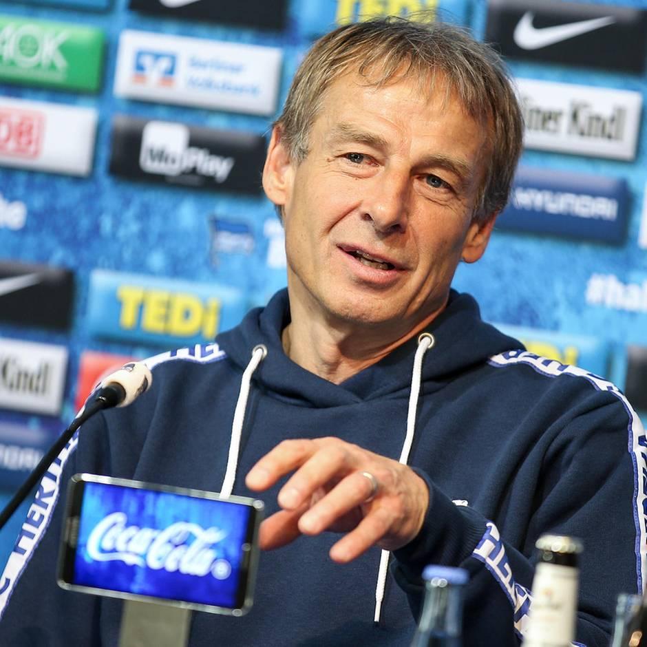 Sport kompakt: Aufatmen bei Hertha BSC: DFB und DHL erkennen Trainerlizenz von Jürgen Klinsmann an