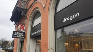 """nachrichten deutschland - apotheke wirbt für """"drogen"""""""